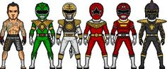 The many faces of Tommy Oliver