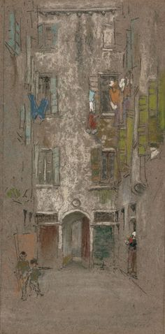 James McNeill Whistler American, 1834-1903, Corte del Paradiso
