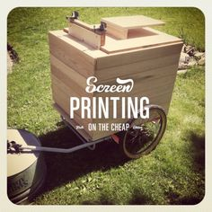 SPOTC Screen Printing Mobile Press