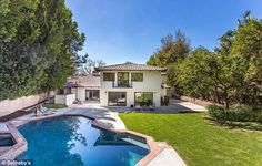 Making a splash:While not as flashy as many outdoor spaces belonging to homes in this pri...