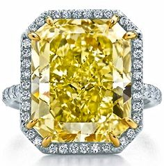 Intense Yellow Diamond Ring by Graff