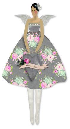 Набор для изготовления куклы Тильда - Винтажный ангел, Арт.  0480 474
