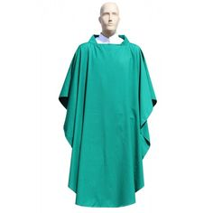 Pope Francis Collection Economic #Gothic #Chasuble in green color