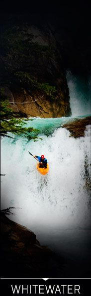 We are in love with this #whitewater #kayaking photo.