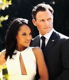 Olivia Pope and Fitz.