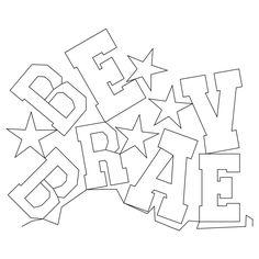 Shop | Category: Edge-to-Edge | Product: Be Brave E2E