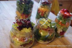 Lunch in Mason Jars ideas