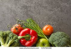 Raw organic vegetables with fresh ingredients for healthily cooking on natural background, top view, banner. Background layout with free text space. Natural Background, Free Text, Organic Vegetables, Food Coloring, Top View, Food Design, My Recipes, Banner, Healthy Eating