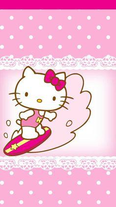 Hello Kitty Art, Hello Kitty Pictures, Sanrio Hello Kitty, Hello Kitty Invitation Card, Origami, Miss Kitty, Hello Kitty Wallpaper, Sanrio Characters, Pocket Letters