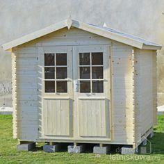 Drewniany domek narzędziowy (timber shed) Morava A 5,3 m2