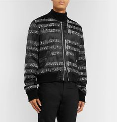 Take advantage of the end of the fall-winter 2019 season and enjoy discounted prices on designer fashions that are part of Mr Porter's holiday sale. The Fashionisto, Satin Bomber Jacket, Hooded Parka, Mr Porter, Men's Jackets, Double Breasted, Saint Laurent, Fall Winter, Mens Fashion