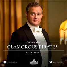 Lord Robert, Earl of Grantham Downtown Abbey Quotes, Hugh Bonneville, Dowager Countess, Your Turn, Period Dramas, Downton Abbey, Best Tv, Favorite Tv Shows, Make Me Smile