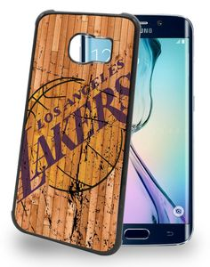 Los Angeles LA Lakers Cell Phone Hard Case for Samsung Galaxy S6, Samsung Galaxy S6 Edge