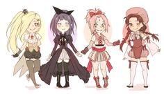 Yamanaka Ino, Hyuga Hinata, Haruno Sakura and Tenten