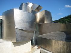 This is the building that got me into Architecture (or rather reminded me I was into architecture).  It's on the bucket list:  Gehry's Guggenheim in Bilbao, Spain.