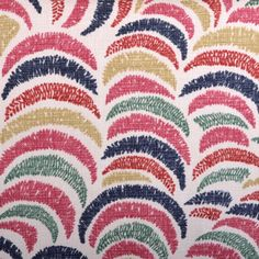 Duralee Fabrics    John Robshaw Designer Collection  Madder - Coral - book # 2839    Pattern/Color: 21042-215  Description: Multi