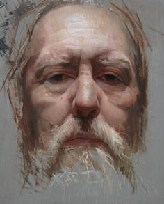 "Gallery Henoch - David Kassan, Henry, Oil on Board, 14"" x 11"""