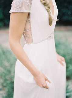style | Tallulah Gown from BHLDN | mike radford photography | repin via: my wedding mag