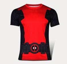 Deadpool+Compressed+Short+sleeve+fitting+shirts+Adult+Size+Design+2
