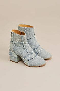 Denim Boots by MM6 by Maison Martin Margiela @ Kick Pleat