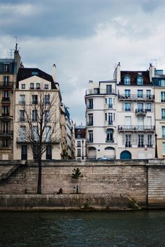 Paris - this rounded house in the middle was the home where I was raised.