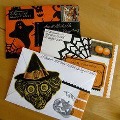 Halloween... favorite snailmail holiday
