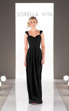 Sorella Vita Long Bridesmaid Dresses                    Style 8448 only $219.99 readybrides.com