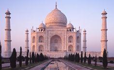 Taj Mahal, em Agra, na Índia