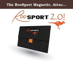 The RooSport Magnetic, Attachable Running Pocket (LARGE). Taking the running world by storm! This patented magnetic pocket is easy to attach and holds up to 3 Sports Gels for the 6:30 mile runner and holds Clif Bars, Skittles, medication, pepper spray and more.