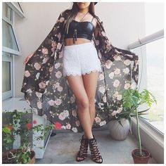 Love everything but the flower cape thing