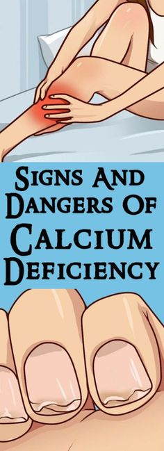 Signs And Dangers Of Calcium Deficiency #health #diy #nail #hair #beauty #fitness