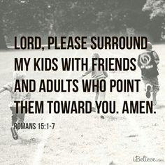 A paren'ts prayer -- for children of ALL ages.
