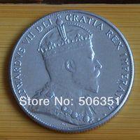 DARMOWA WYSYŁKA kanada 1904 50 centów monety kopia