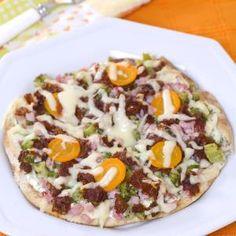 Pizza Deliciosa de Pão Sírio