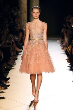 ELIE SAAB Spring F/W 2012-13 - Fashion Diva Design  the ultimate bridesmaids dressl. let me know what you think.      walking on sunshine:)