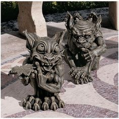 Babble and Whisper Gargoyles