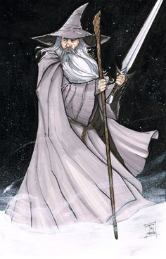 Gandalf the Grey - The Lord of the Rings - Tom Hodges