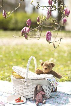 Piknik z Misiem Endo w obiektywie bloga Majuszka Wicker Baskets, Decor, Decoration, Decorating, Woven Baskets, Deco