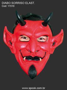 Diabo Sorriso - Com Elástico
