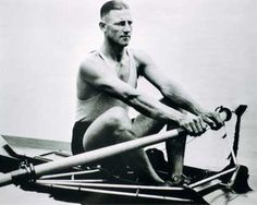 """""""In the quarter final he was easily beating French opponent Saurin when a family of ducks strayed into his lane. Pearce momentarily stopped rowing to let the ducks pass; he still won by 20 lengths and broke the course record."""""""