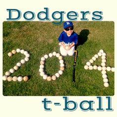 T-ball picture. DIY T-ball ideas Team Moms