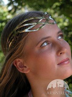 Gioielli medioevali - LARP: Corona di ottone