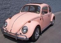 Three volkswagons down, can the fourth be PINK!!!!!