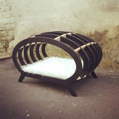 Daybed for cats and smaller breeds of dogs by Pettel on Etsy