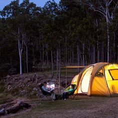 Murphy's Creek Escape is a picturesque camp ground offering powered, non-powered and remote sites within an amazing natural bush setting near Toowoomba, Qld Camping Spots, Go Camping, Abseiling, Ropes Course, Adventure Activities, Campsite, Outdoor Gear, Places To Go, Australia