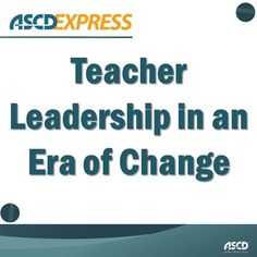 New models for teacher leadership are rising in spite of reforms that seem to chip away at teacher autonomy.