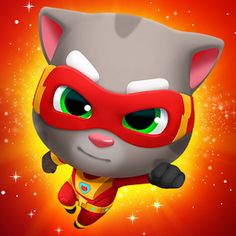 Talking Tom Hero Dash APK MOD v1.9.0.1079 (Gemas/Dinero ilimitado) Ipod Touch, Super Hero Outfits, Super Hero Costumes, Clash Royale, Ipad, Pikachu, Pokemon, Runner Games, Best Stress Relief