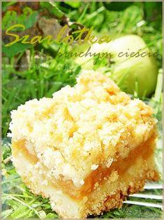 Apple Cake Recipes, Dessert Recipes, Eastern European Recipes, Vegan Junk Food, Vegan Smoothies, Vegan Kitchen, Polish Recipes, Vegan Sweets, Homemade Cakes