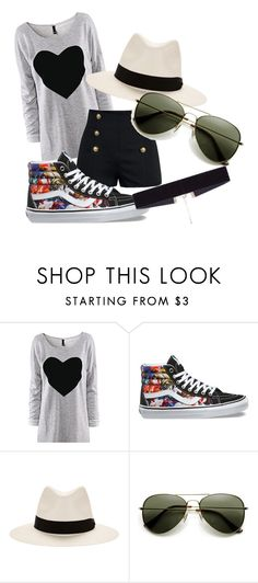 """Casual"" by cookiecookiton on Polyvore featuring Vans, rag & bone and 8 Other Reasons"