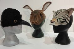 'We Met Together' animal masks inspired by the witchcraft confessions of Isobel Gowdie 1662